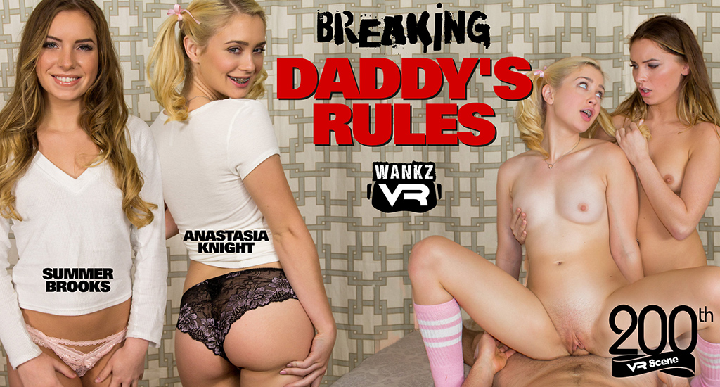 Anastasia Knight and Summer Brooks - Breaking Daddy's Rules