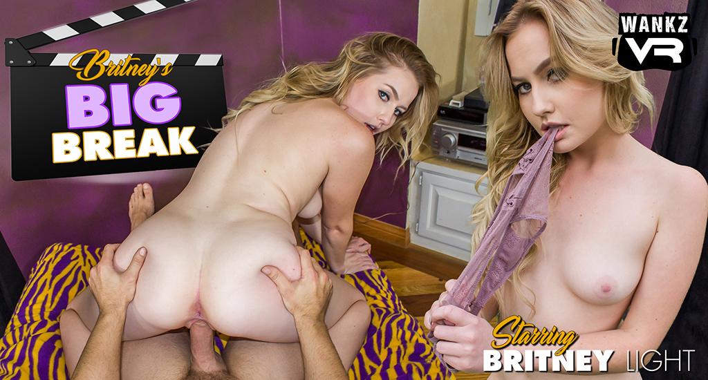 Britney's Big Break - Britney Light - WankzVR