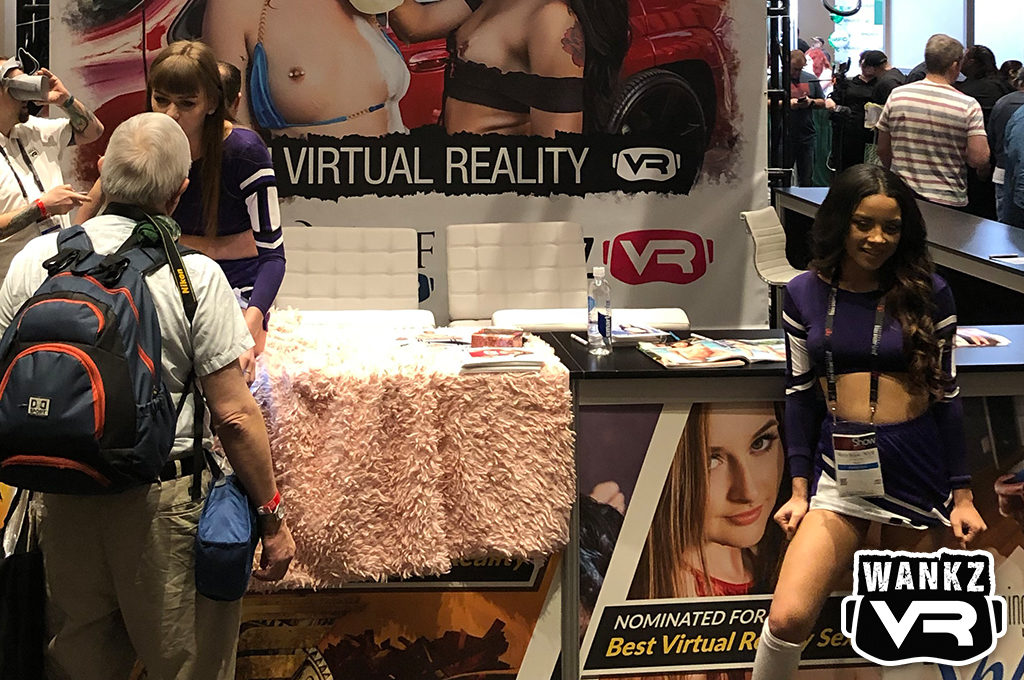 The WankzVR Booth, 2019 AVN Show