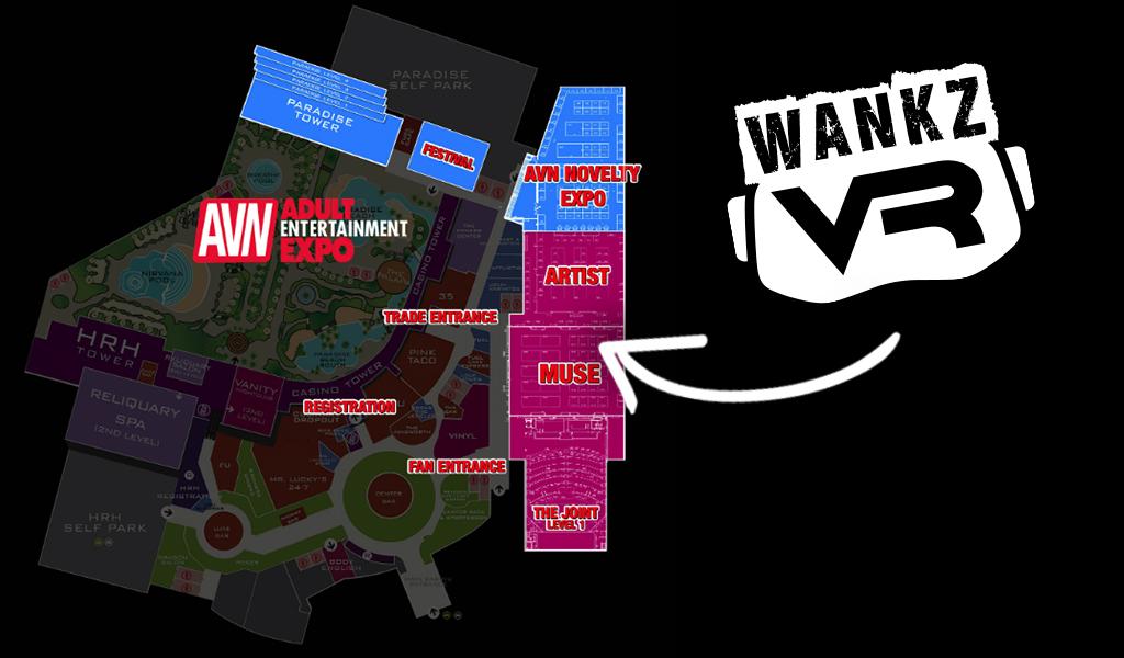 WankzVR AVN Booth - 2019 AVN Expo