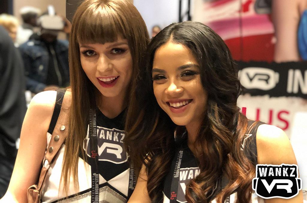 Alex Blake and Maya Bijou | 2019 AVN Show