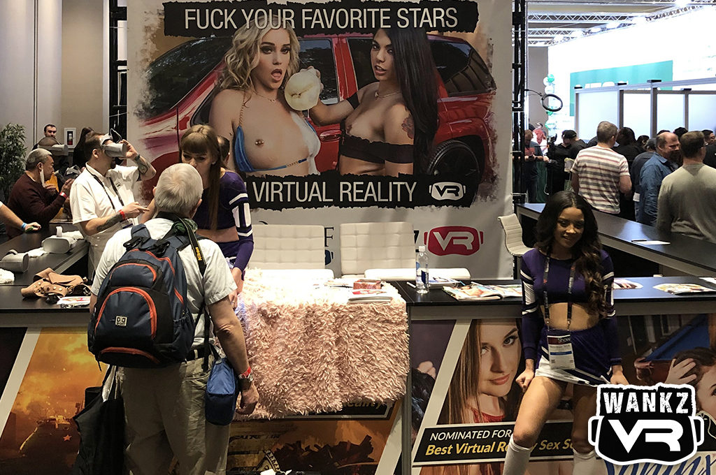 WankzVR Booth - 2019 AVN Show