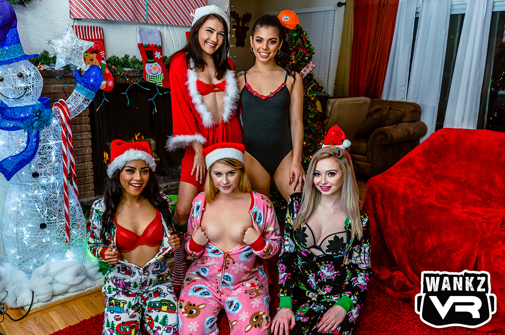 Santa's Naughty List - WankzVR