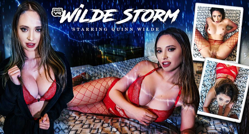 Quinn Wilde in Wilde Storm - WankzVR