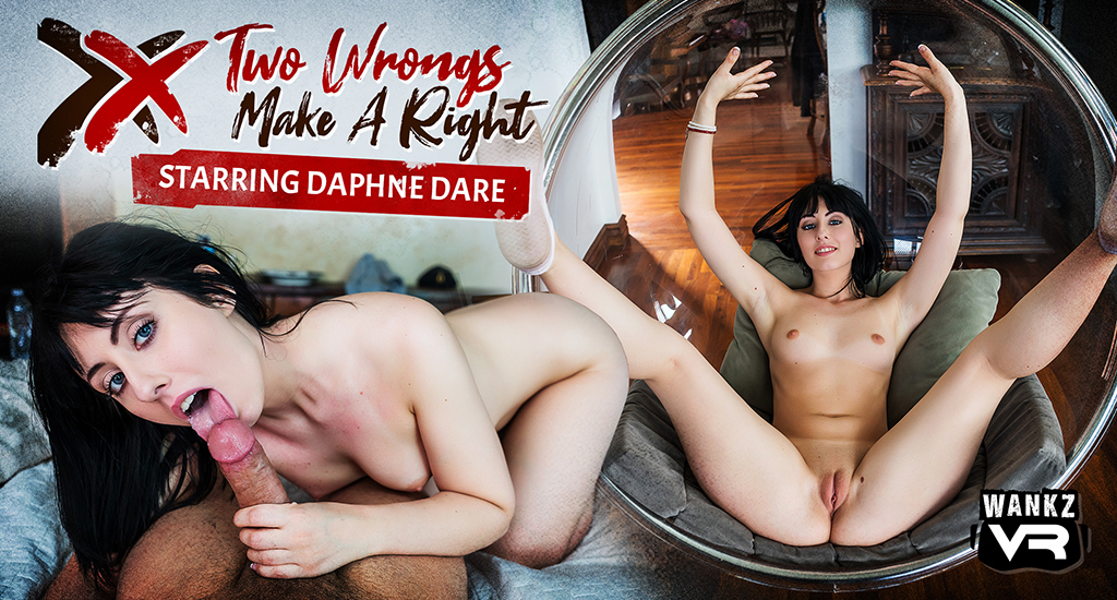 Two Wrongs Make a Right - WankzVR