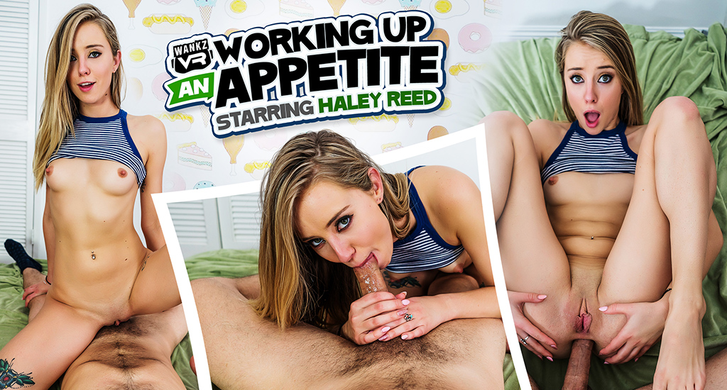 Working Up An Appetite - Haley Reed