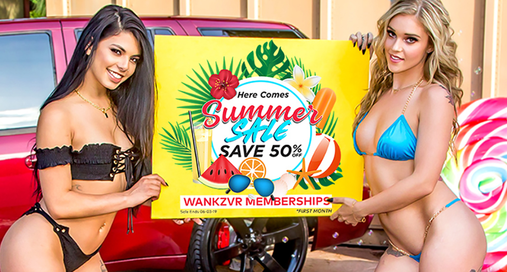 WankzVR Summer Sale - Save 50%