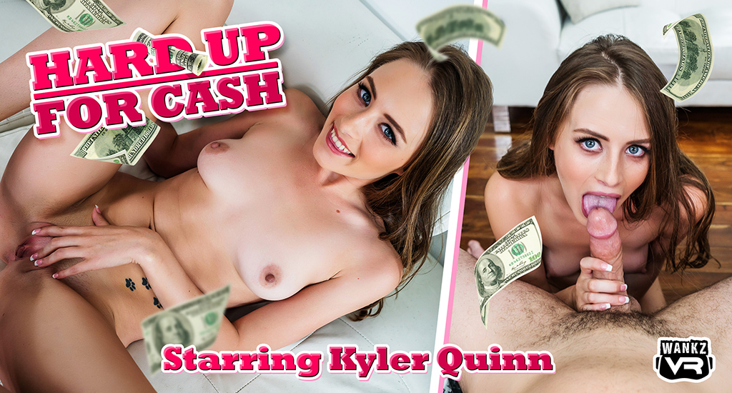 Hard Up For Cash - New @ WankzVR